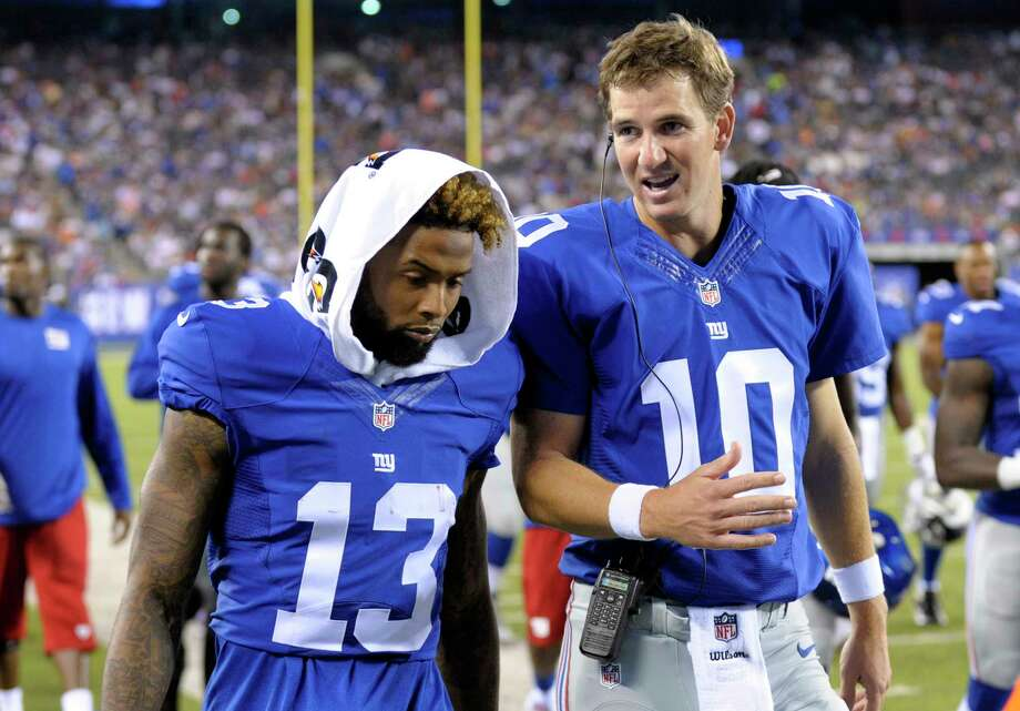 Sunday's game at co-owned and co-shared MetLife Stadium is about the prize that has eluded the Giants and Jets for years. It's about making the playoffs. Photo: Bill Kostroun — The Associated Press File Photo   / FR51951 AP