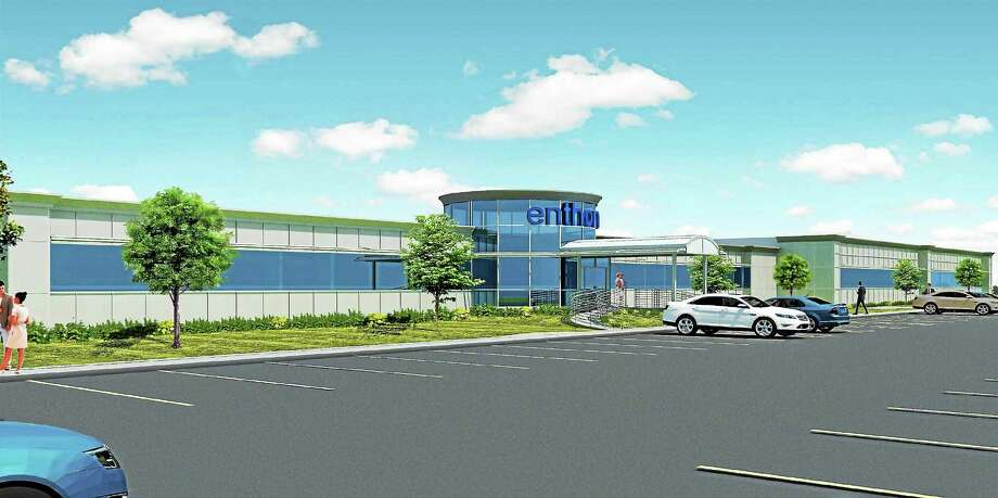 CONTRIBUTED PHOTO  A rendering of the Enthone Advanced Technology Center. Photo: Journal Register Co.