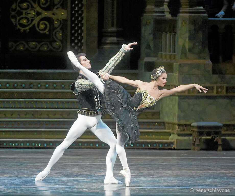 "Misty Copeland and James Whiteside appear in ""Swan Lake"" at the Metropolitan Opera House on June 24, 2015. It was Copeland's New York debut in the lead role. Photo: Gene Schiavone  - American Ballet Theater, AP   / American Ballet Theater"