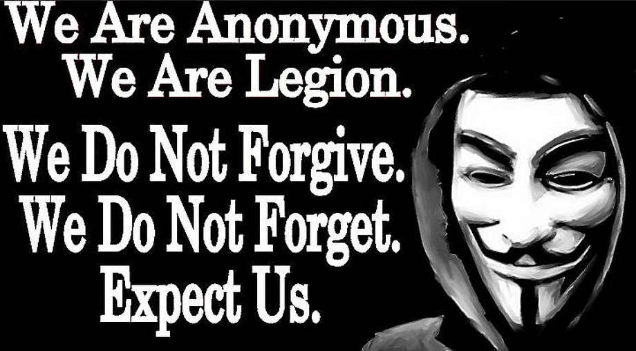 The hacker group Anonymous has targeted the Ku Klux Klan in an information leak it calls Operation KKK. Photo: Journal Register Co.