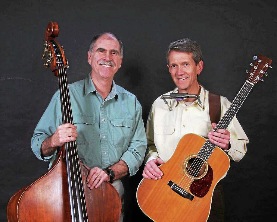 John Swift, left, and Mark White of BlueGrass Duo. Photo: Contributed   / Tim Gannon Photography