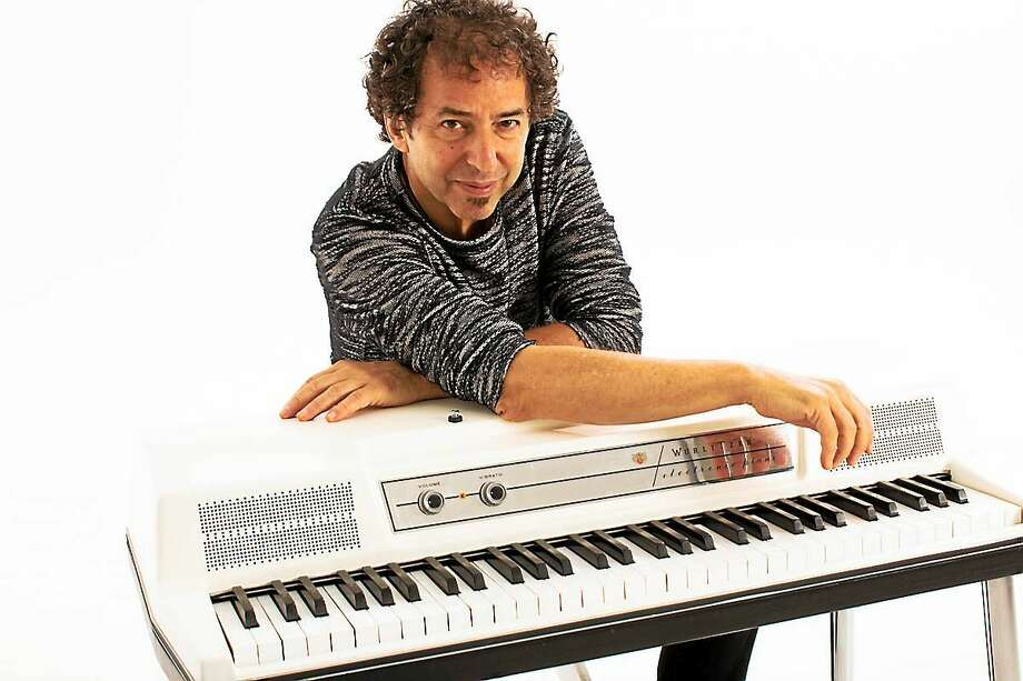 Mark Berman and his keyboard. Photo: Contributed
