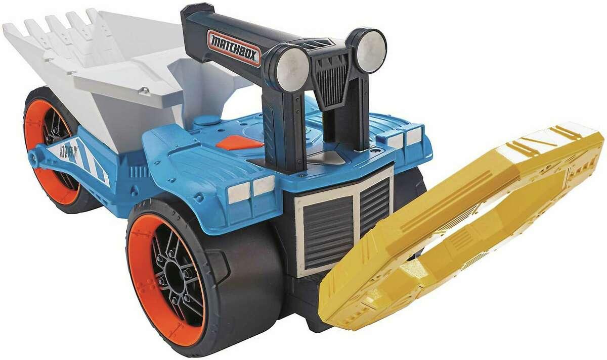 Matchbox Treasure Truck.