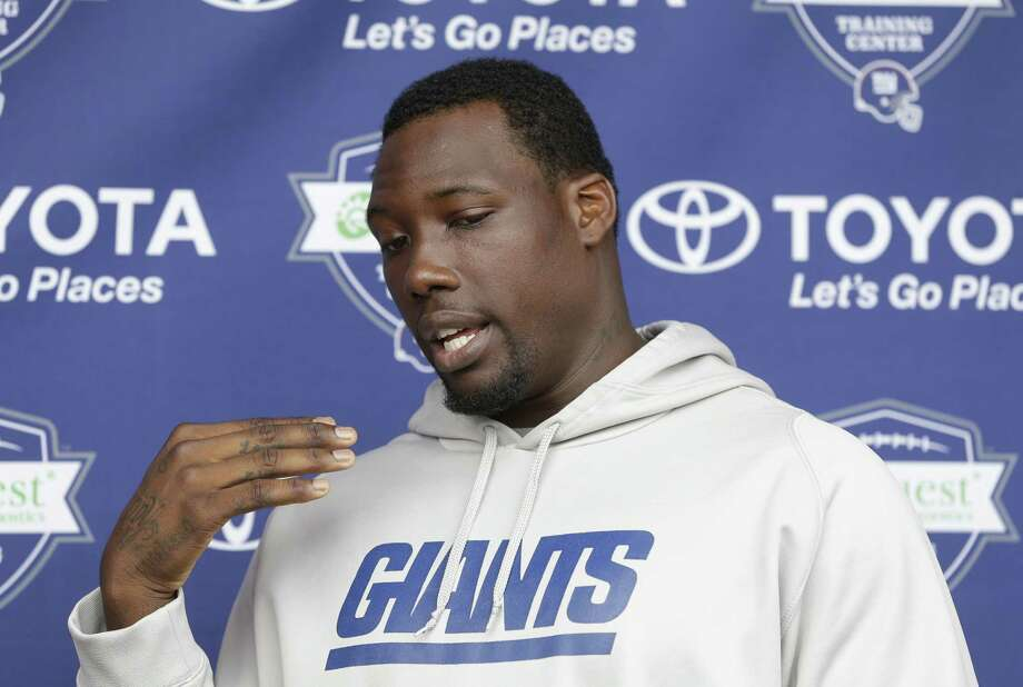 The Giants are aware of an incident involving Jason Pierre-Paul and fireworks, but the team is unsure about the severity of any injuries to the star defensive end, a person with knowledge of the incident told  The Associated Press on Monday. Photo: The Associated Press File Photo   / AP