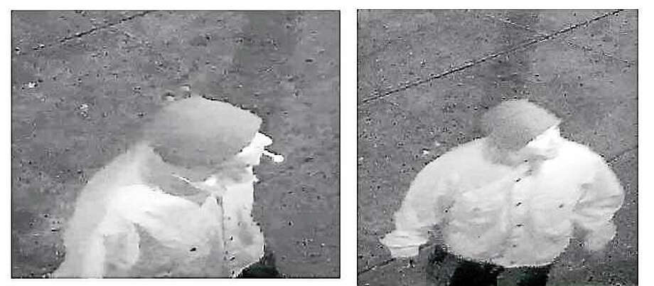 West Haven police are looking for this man who allegedly broke into two businesses on Campbell Avenue early Sunday. Photo: Courtesy Of West Haven Police Department