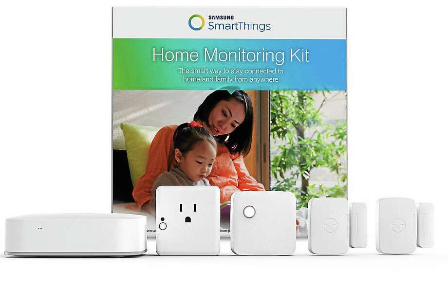 SmartThings Home Monitoring Kit. Photo: Samsung