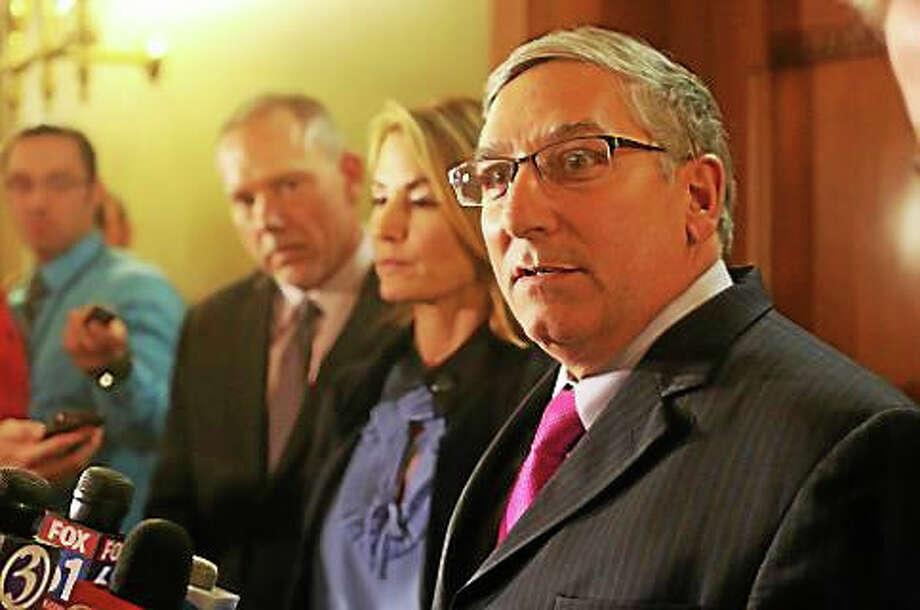 Senate Minority Leader Len Fasano Photo: Christine Stuart — Ctnewsjunkie.com