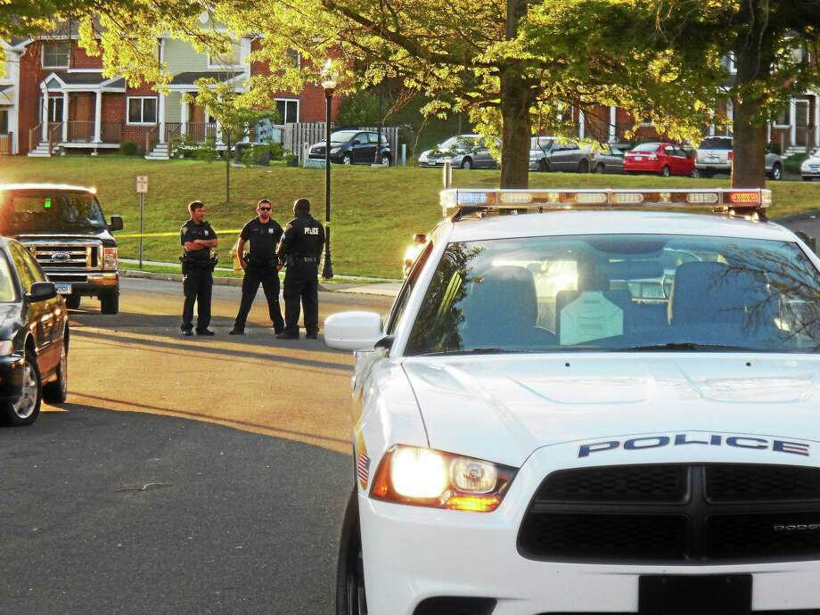 Bouchet Lane in eastern New Haven was blocked off Thursday morning as police investigated the fatal shooting of a city man there Wednesday night. Police are asking for the public to help them find out more about what occurred. Photo: Wes Duplantier — New Haven Register