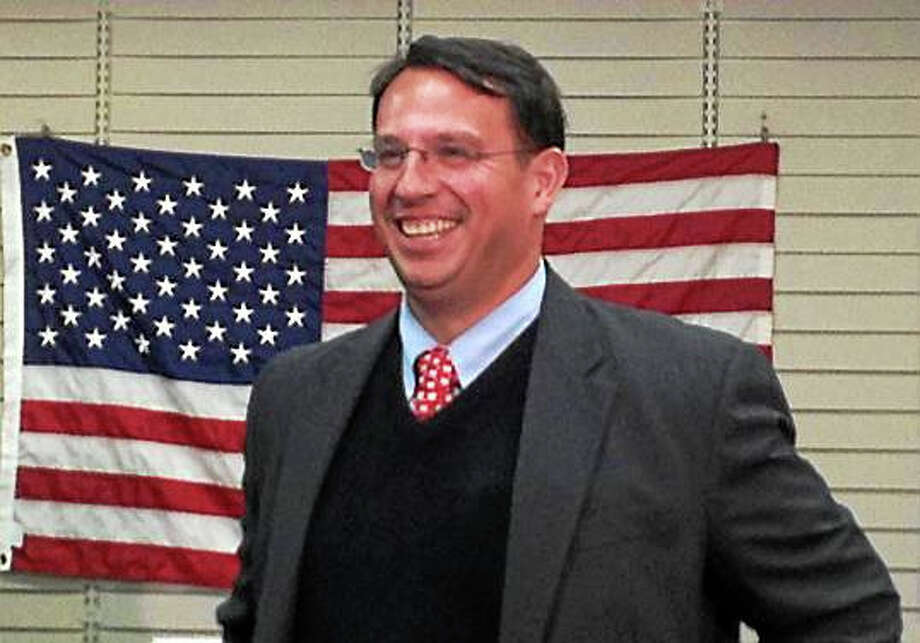 Milford Mayor Ben Blake easily won re-election to a third term Tuesday. Photo: Pam McLoughlin — New Haven Register
