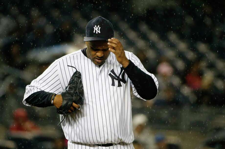 Yankees pitcher CC Sabathia said through a statement released by the Yankees that he has checked himself into an alcohol rehabilitation center. Photo: The Associated Press File Photo   / AP