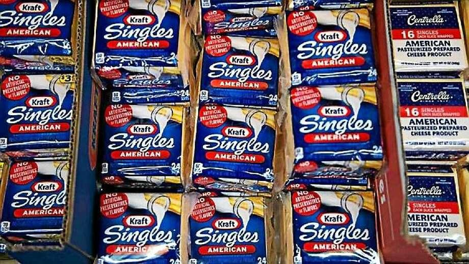 Kraft Singles packages Photo: AP Photo