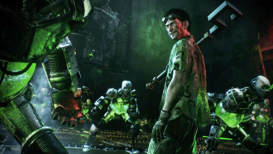 "This image provided by Warner Bros. Entertainment Inc. shows a scene from the video game, ""Batman: Arkham Knight."" Photo: Warner Bros. Entertainment Inc. Via AP   / Warner Bros. Entertainment Inc."