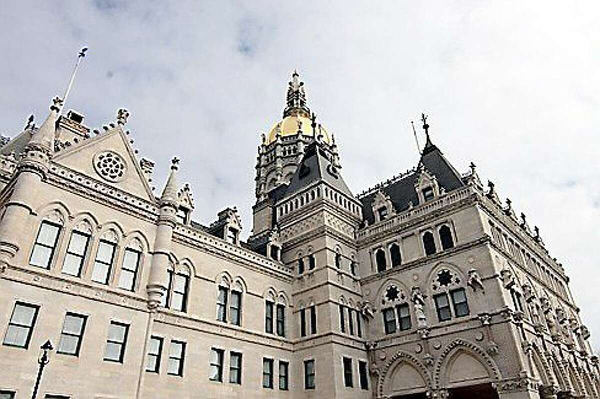 The Capitol Building in Hartford.