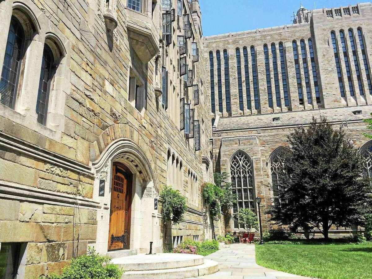 Yale University campus.
