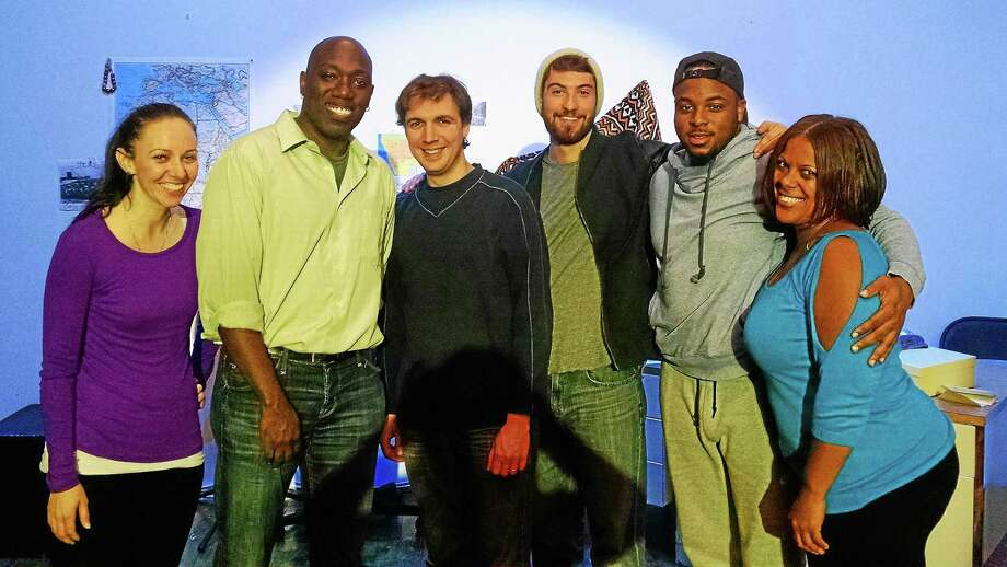 Michelle Burns, left, Dexter Singleton, Ethan Warner Crane, Griffin Kulp, Tenisi Davis and Raynetta Woods of the theater troupe. Photo: Contributed