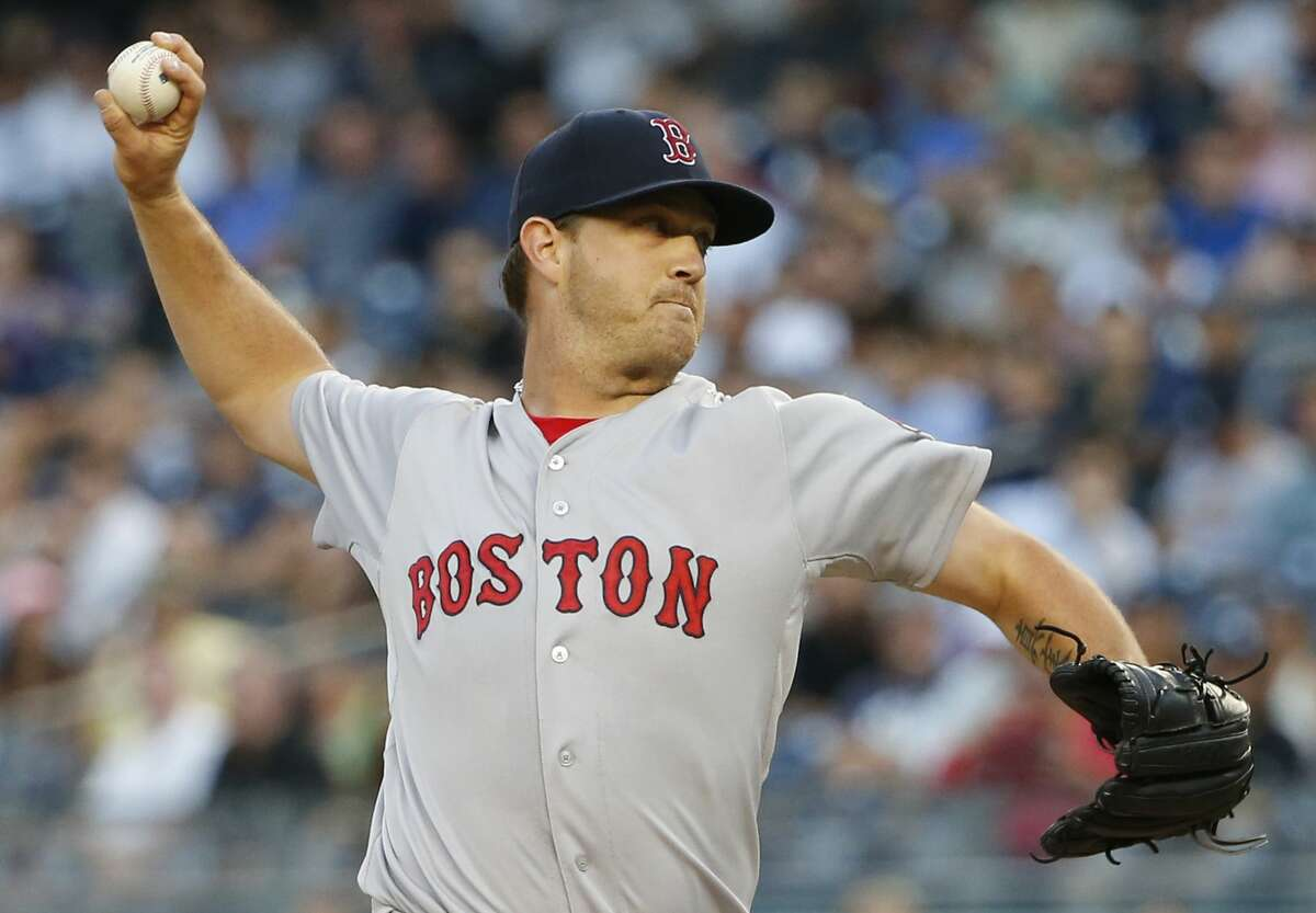 Steven Wright allowed just one run over eight innings in a win over the Yankees on Wednesday.
