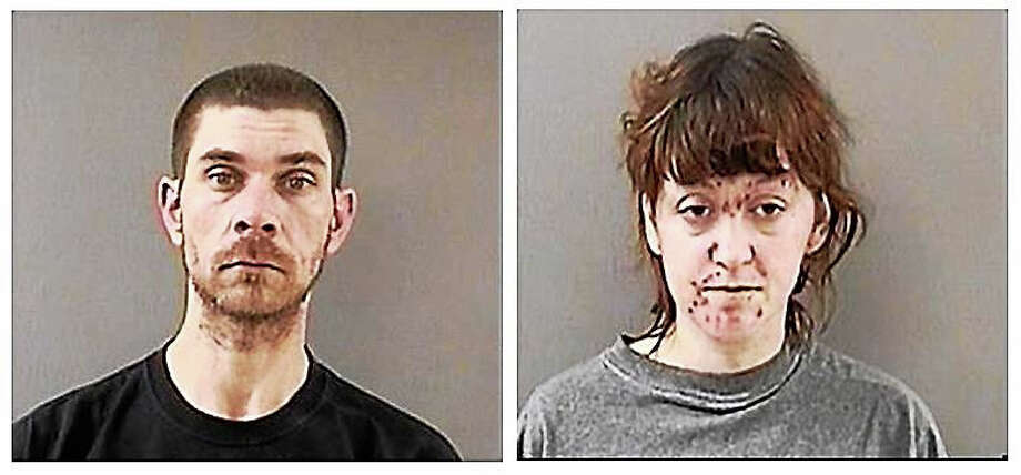 James Richards and Marie Harmon Photo: Wallingford Police Department
