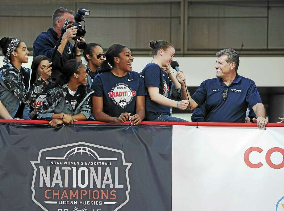 The UConn women's basketball team is going for a fourth straight national title this season. Photo: Jessica Hill — The Associated Press File Photo   / FR125654 AP