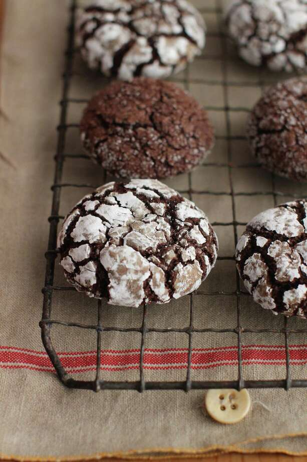 Chocolate Rye Spice Crinkles. Photo: Matthew Mead — Associated Press   / FR170582 AP