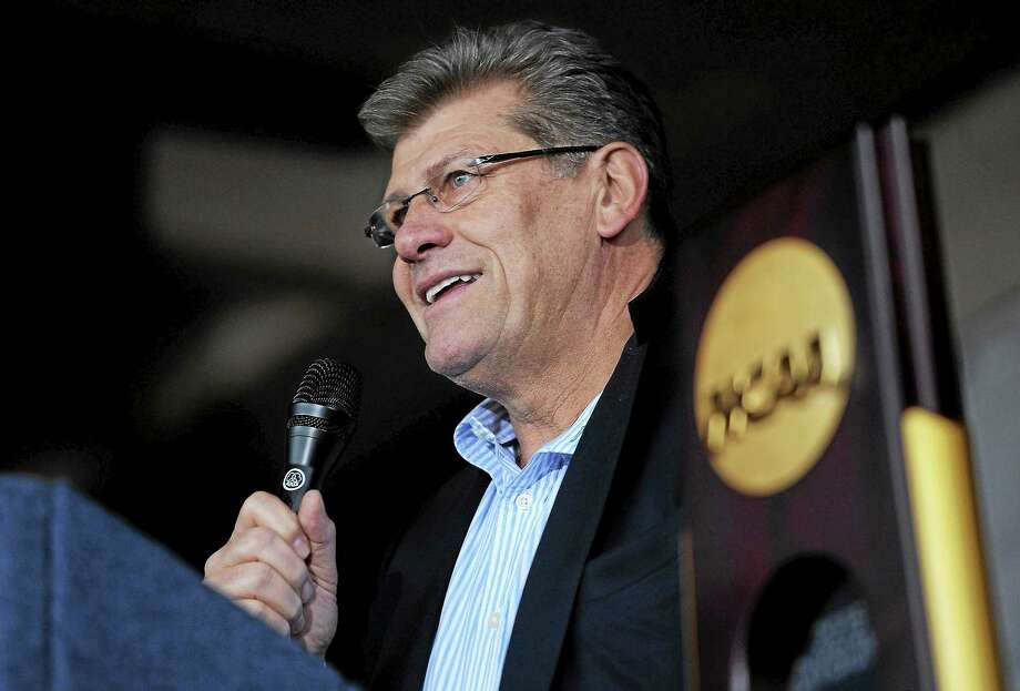 UConn coach Geno Auriemma had a lot to say about fans on a recent podcast, but Register columnist Chip Malafronte feels the Hall of Fame coach is a little off base with some of his complaints. Photo: Jessica Hill — The Associated Press File Photo   / AP2015