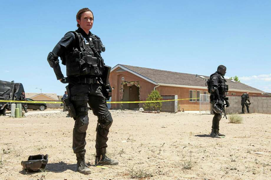 "Emily Blunt is FBI tactical team leader Kate Macer in ""Sicario."" Photo: Richard Foreman Jr. - Lionsgate   / Lionsgate"