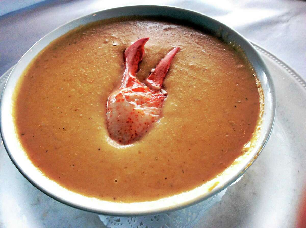 Jeffrey's Sweet Potato Lobster Bisque