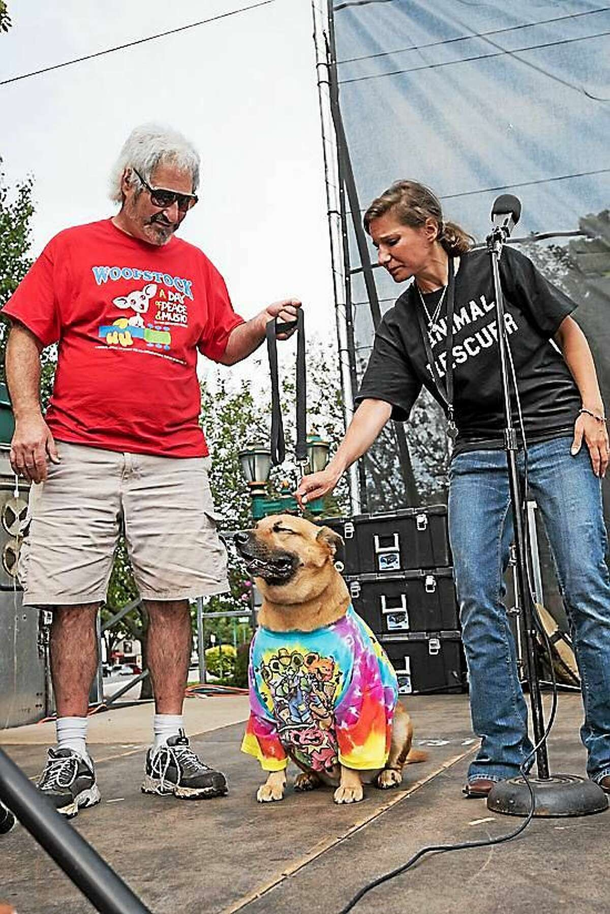 Of course dogs are welcome to Woofstock Saturday.