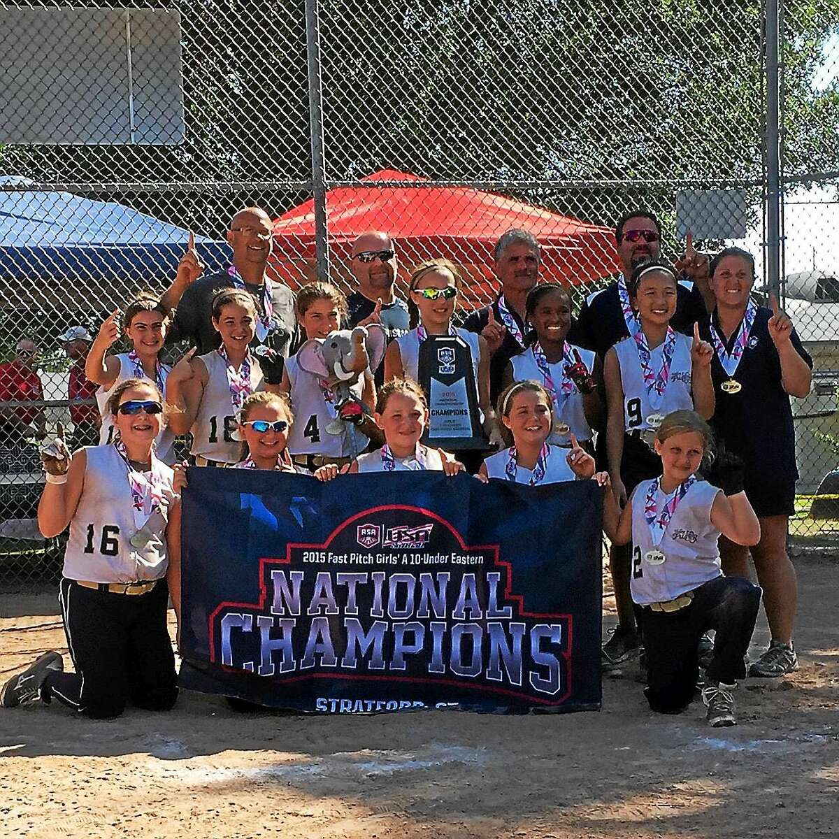 The Valley Fusion girls softball team recently clinched the title as Eastern National Champions.