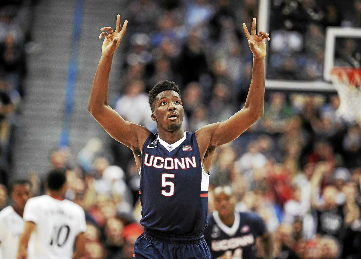 Daniel Hamilton and UConn open the AAC portion of their schedule on Jan. 2 at Tulane, the day after the Sugar Bowl in New Orleans.