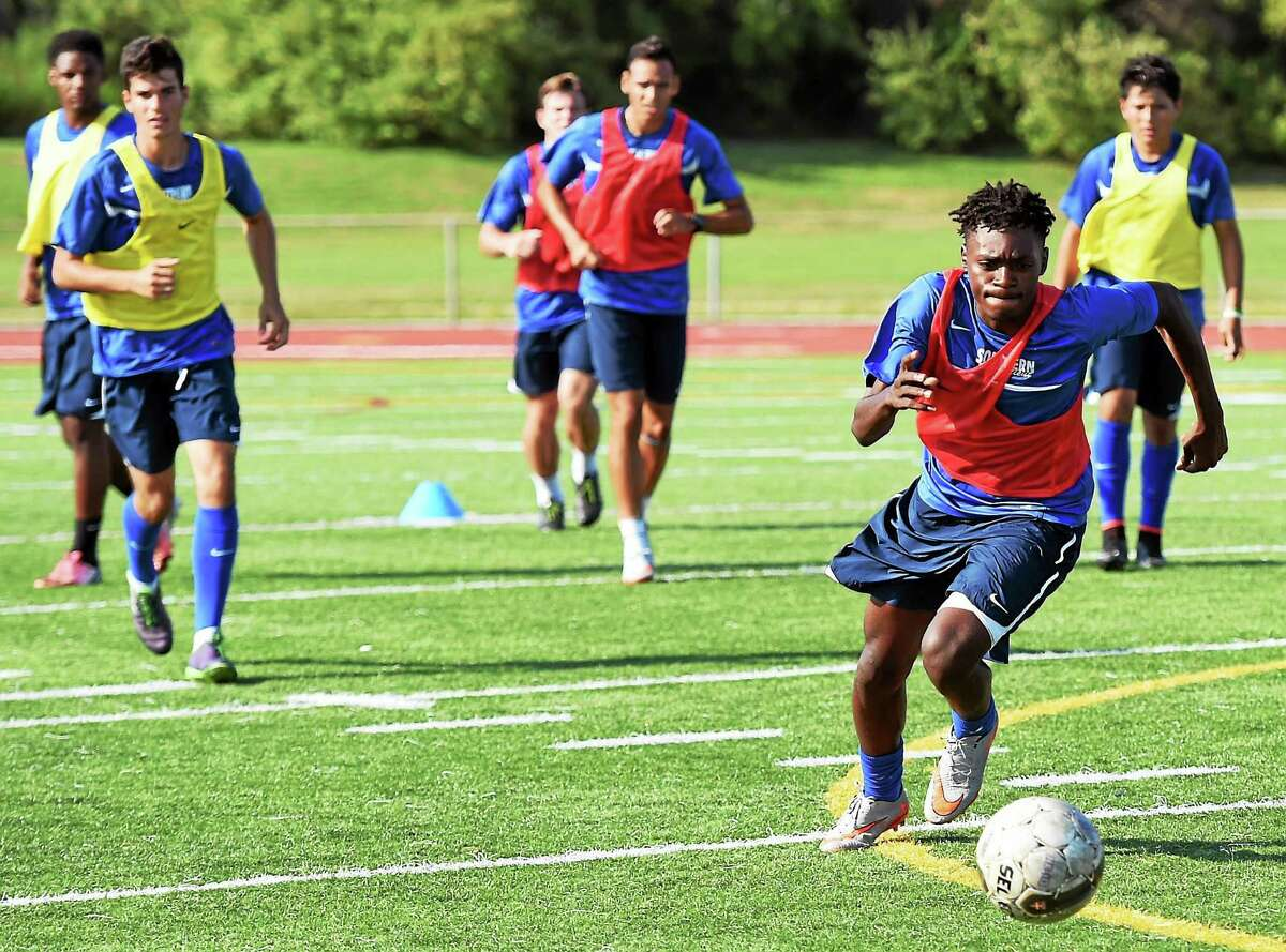 The SCSU men's soccer team will open its season against Dominican College on Thursday.