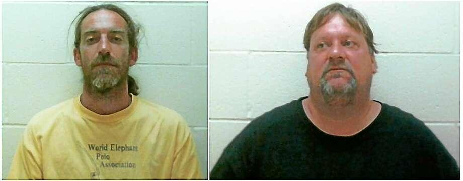 """Matthew Voog and Eddie """"Scoobie"""" Herger Photo: Clinton Police Department"""