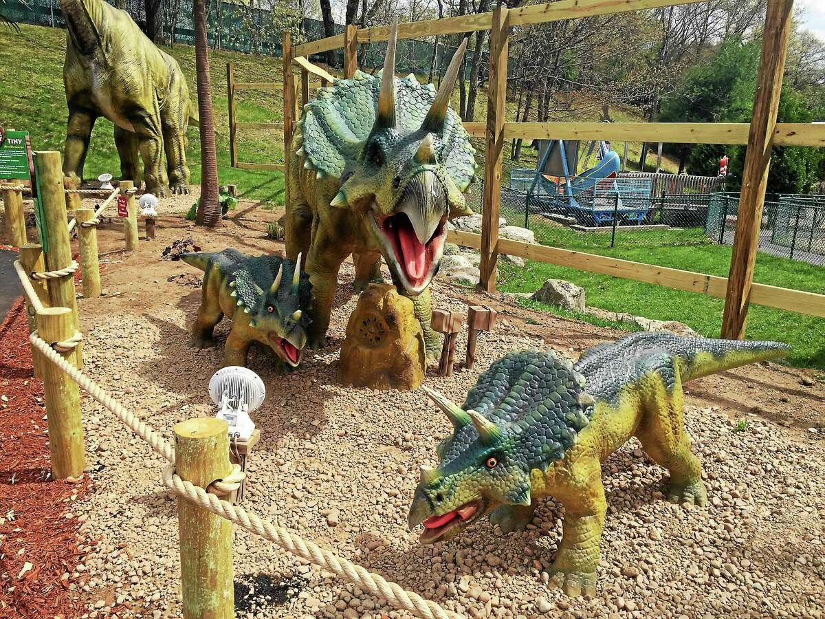 Dino Expedition at Lake Compounce in Bristol has been added to the Connecticut Dinosaur Trail.
