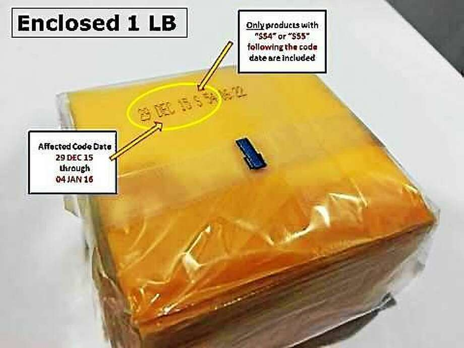 A package of cheese product slices with the date and production code included in the recall. Kraft said Friday night it is recalling the slices because of a potential choking hazard. Photo: Photo By Business Wire Via The Kraft Heinz Company