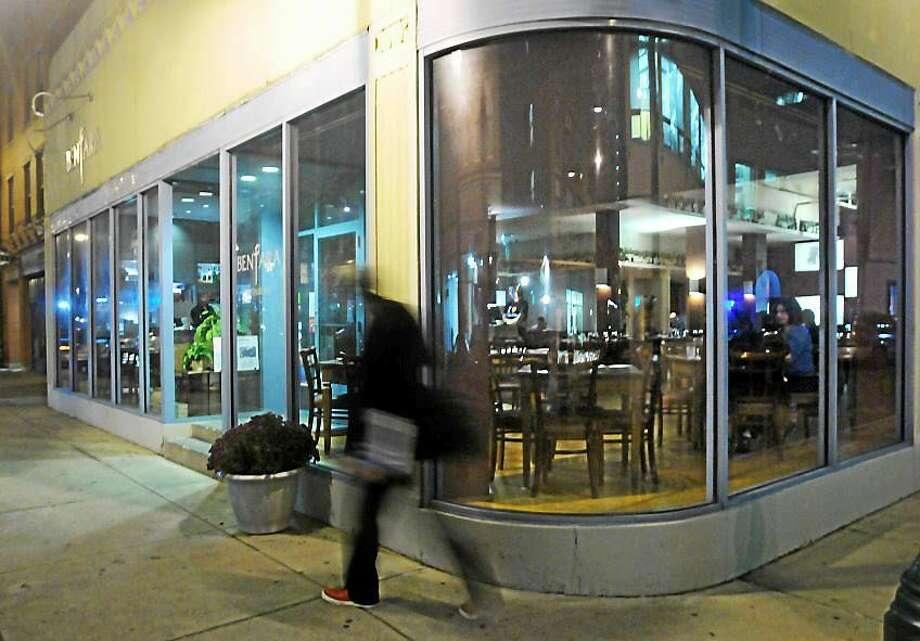 Bentara Malaysian restaurant at the corner of Orange and Center streets in New Haven. Photo: MARA LAVITT — NEW HAVEN REGISTER FILE PHOTO