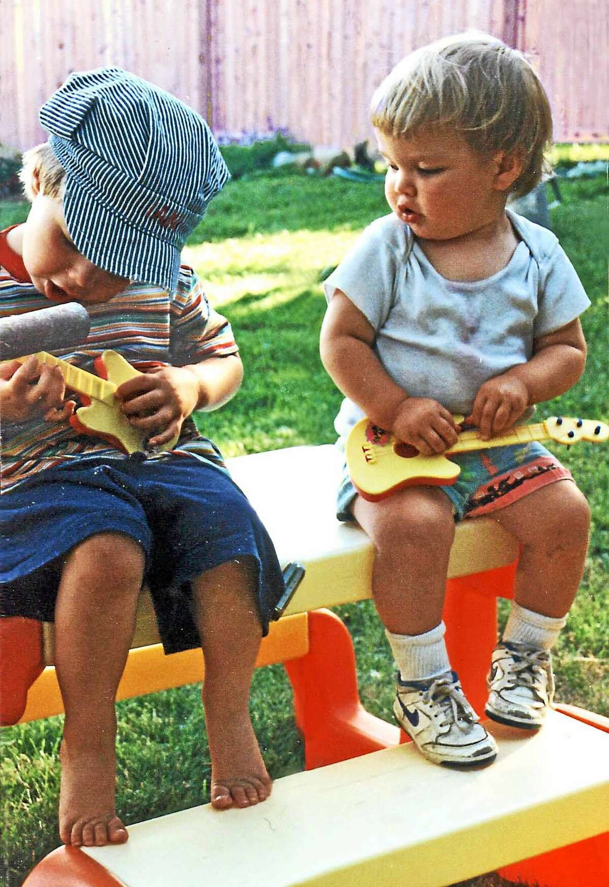 Ian and Dustin Meadows got an early start on their musical careers.