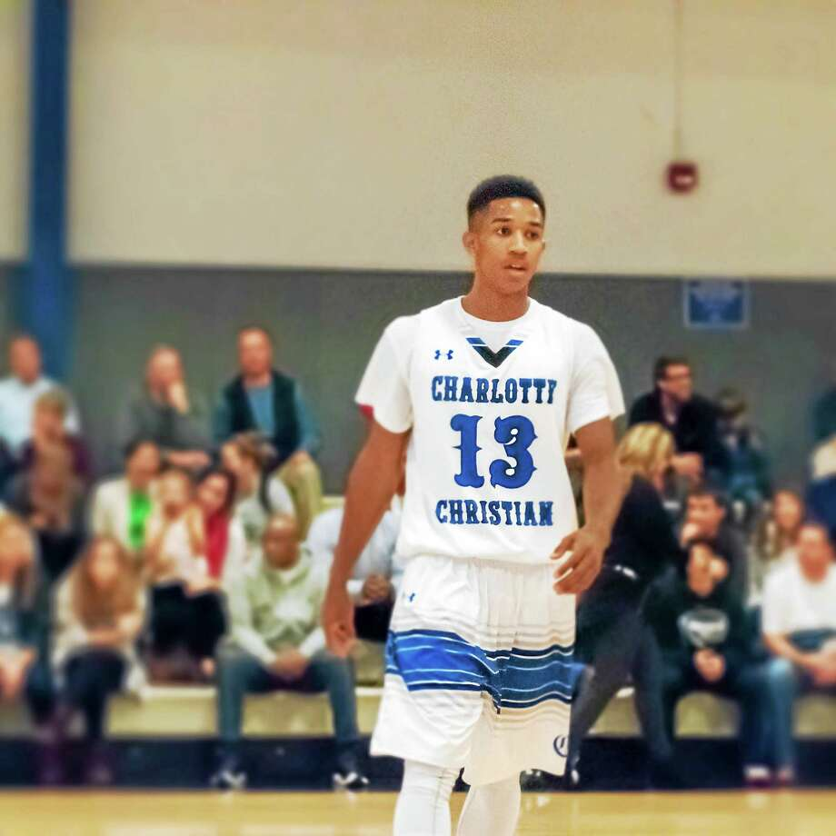 Trey Phills, son of former NBA guard Bobby Phills, will be a freshman on the Yale men's basketball team this year. Photo: Photo Courtesy Of Yale Athletics