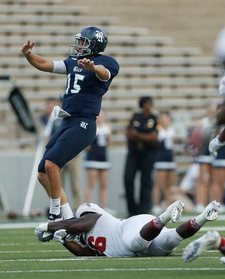 Redshirt sophomores J.T. Granato, above, and Jackson Tyner are the most experienced of the quarterbacks who will compete for the starting job at Rice. Photo: Karen Warren, Staff Photographer / 2016 Houston Chronicle