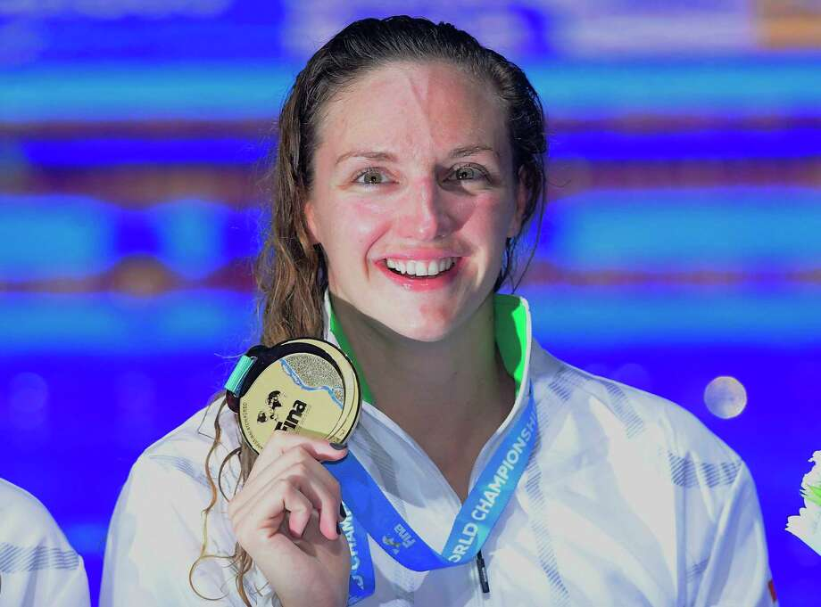 Ledecky claims another record-breaking gold, Sun shines in Hungary