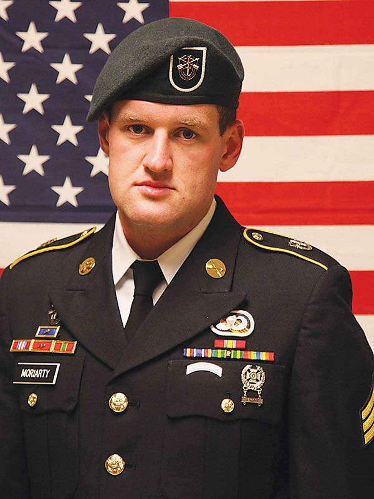 James F. Moriarty Kerrville Army Staff Sergeant Died: 11/6/2016, Jordan