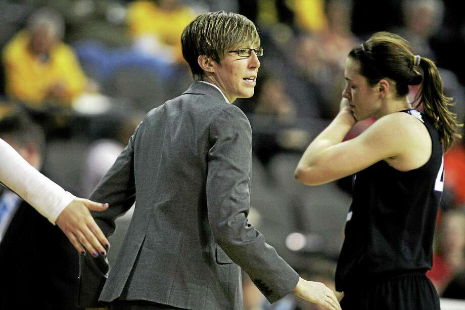 After a stint as an assistant with Northwestern, Allison Guth is back in New Haven to take over as the new Yale women's basketball coach. Photo: The Associated Press File Photo   / Daily Herald