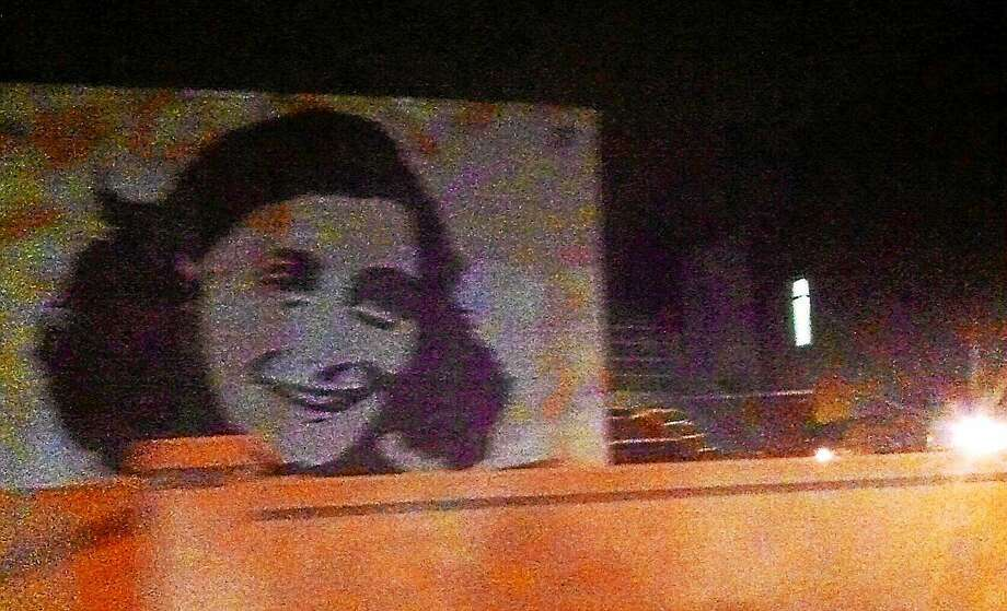 BiP mural of Anne Frank seen in New Haven. Photo: Journal Register Co.