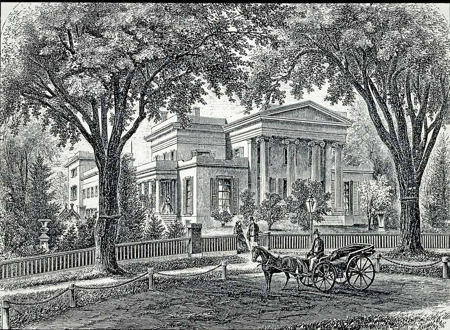 Woodcut credit: New Haven Preservation Trust Photo: Journal Register Co.