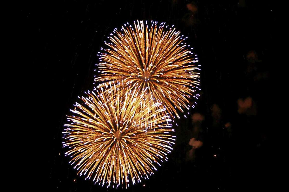 There is surely no shortage of firework displays now through the end of the month.