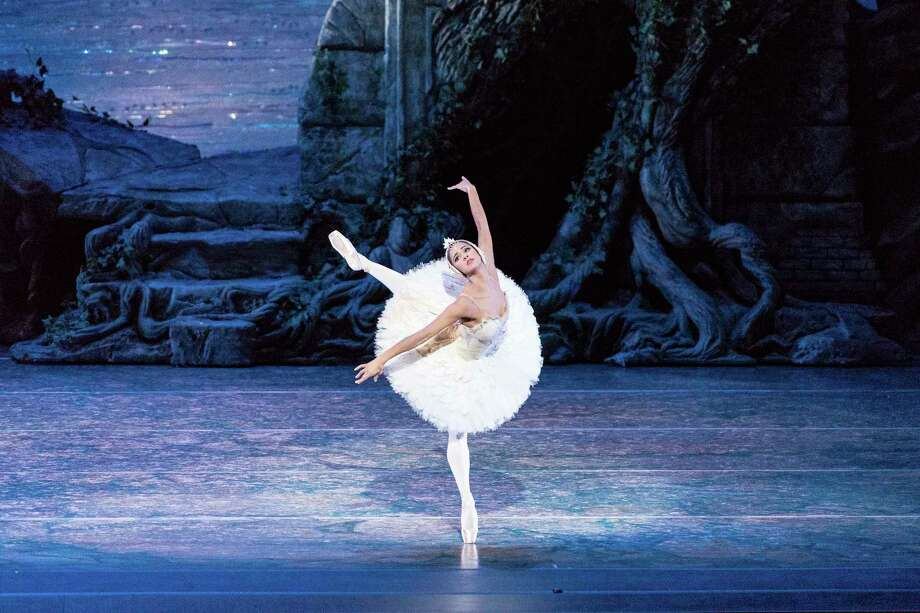 """In this Sept. 3, 2014 file photo, Misty Copeland performs in """"Swan Lake,"""" at the Queensland Performing Arts Centre in Queensland, Australia. Photo: Associated Press — American Ballet Theater   / ABT"""
