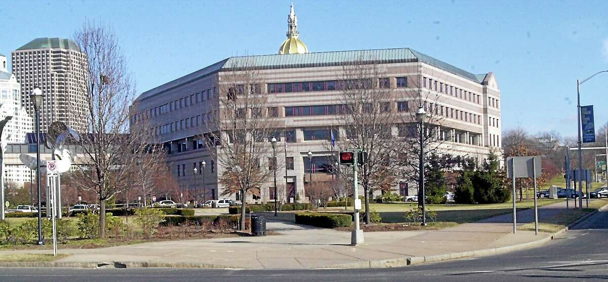 The Legislative Office Building in Hartford.