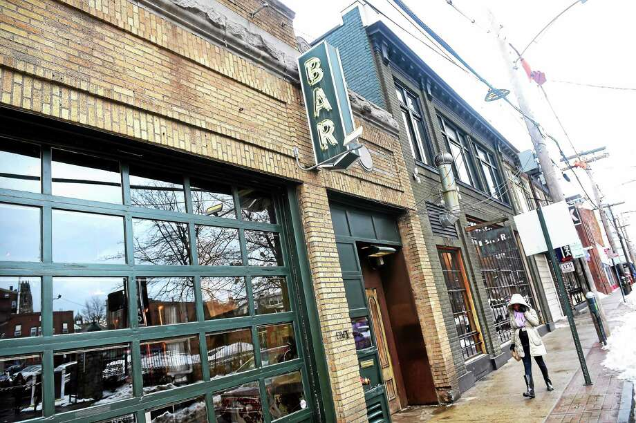 BAR restaurant and nightclub on Crown Street in New Haven. Photo: Arnold Gold — New Haven Register