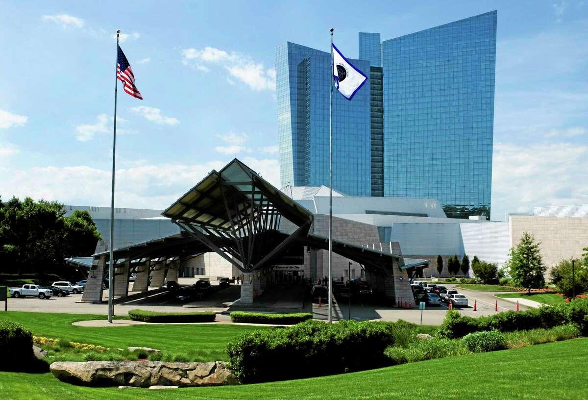 This June 10, 2012 photo shows the Mohegan Sun casino in Uncasville.