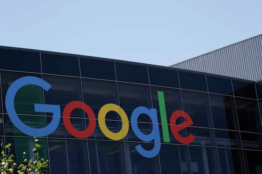 FILE - This Tuesday, July 19, 2016, file photo shows the Google logo at the company's headquarters in Mountain View, Calif. Alphabet Inc., the parent company of Google, reports earnings on Monday, July 24, 2017. (AP Photo/Marcio Jose Sanchez, File) Photo: Marcio Jose Sanchez, STF / Copyright 2017 The Associated Press. All rights reserved.