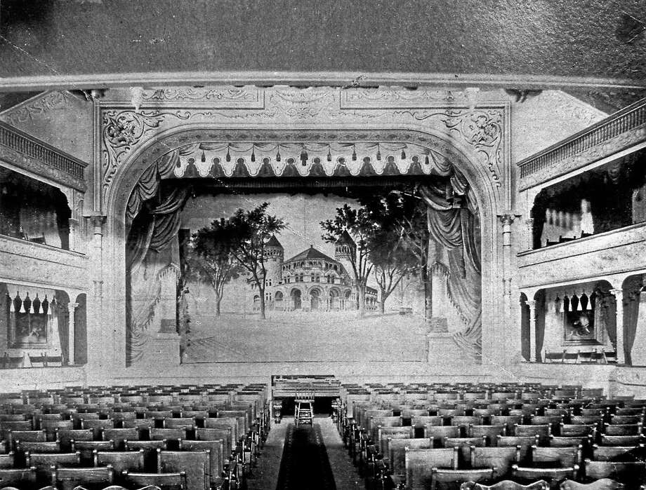 Poliís Wonderland Theatre in 1895, courtesy of the New Haven Museum Photo: Journal Register Co.