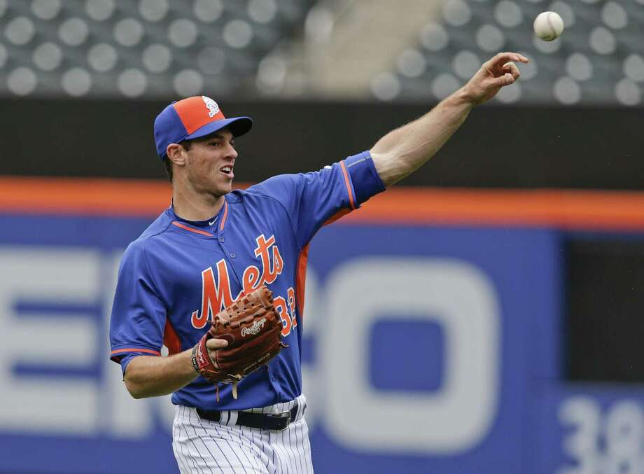 Mets pitcher Steven Matz throws before Saturday's game against the Cincinnati Reds in New York. Photo: Frank Franklin II — The Associated Press   / AP
